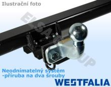 Tažné zařízení Fiat Doblo II PLYN 2010- , přírubový čep 2 šrouby, Westfalia