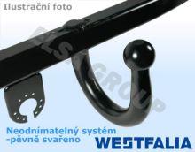 Tažné zařízení Ford Fusion 2002-2011 , pevný čep svařený, Westfalia