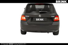 Tažné zařízení Škoda Fabia III HB 2014-, BMA, BRINK