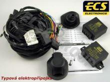 Typová elektropřípojka Fiat Strada 2000- , 7pin, ECS