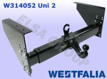 Tažné zařízení UNI 2 (doporučený čep 329062)