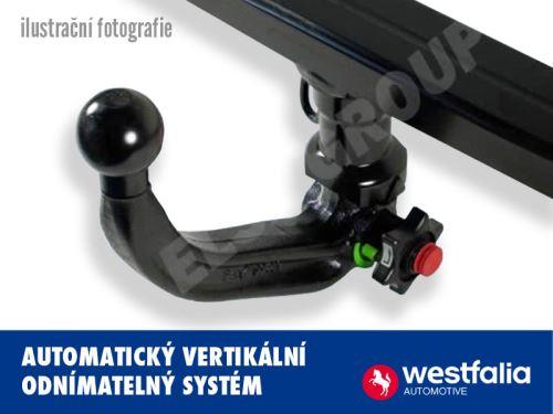 Tažné zařízení VW Golf Variant (kombi) 2014- (VII), odnímatelný vertikal, Westfalia