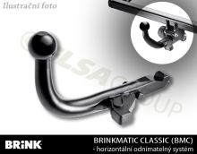 Tažné zařízení Isuzu D-Max 2003-2006 , odnímatelný BMC, BRINK
