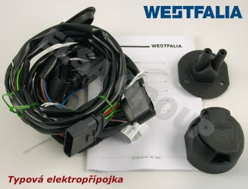 Elektropřípojka VW Transporter T5 skříň 13pin