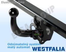 Tažné zařízení Fiat Scudo 2007- , odnímatelný horizontal, Westfalia