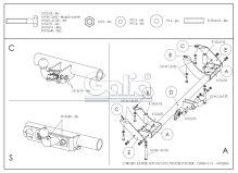 Tažné zařízení Citroen Jumper / Fiat Ducato / Peugeot Boxer, 1994 - 2006