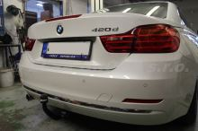 Tažné zařízení BMW 4-serie Coupé / Cabrio 2014/03- (F32/F33), odnímatelný BMA, BRINK