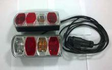 ND CRUZ Pivot 2/3 kola - osvětlení k nosiči kol vč. 13pin kabeláže