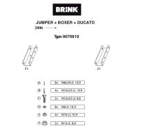 Doplněk pro B481900 - pro valník nutné!