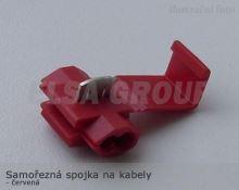 ND Samořezná spojka na kabely červená - ITC
