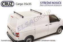 Střešní nosič VW Transporter T4 Cargo (2 příčníky 35x35), CRUZ