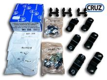 Sada 6 fixačních adaptérů pro koše Cruz Safari na ALU tyče