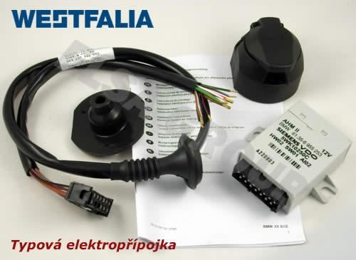 Elektropřípojka BMW X5 13pin