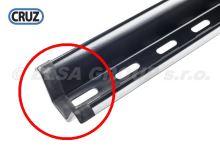 ND 1ks černá koncovka U-profilu nosiče kol CRUZ, plastová