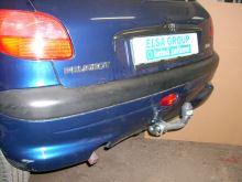 Tažné zařízení Peugeot 206, 1998 - 2003
