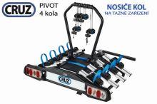 Nosič kol Cruz Pivot - 4 kola, na tažné zařízení