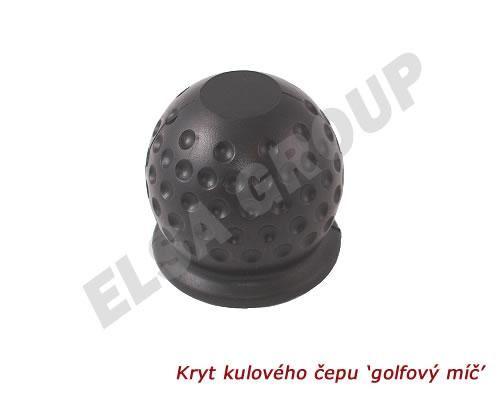 Kryt kulového čepu 'golfový míč'