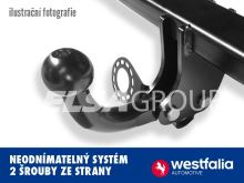 Tažné zařízení Toyota Verso S 2011- , pevný čep 2 šrouby, Westfalia