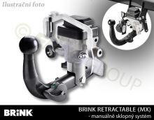 Tažné zařízení BMW X4 2014- (F26) , automat sklopný, BRINK