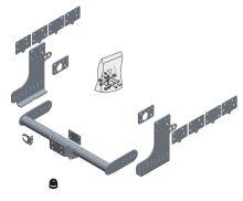 Tažné zařízení Iveco Daily skříň 2014/07-, bez čepu, BRINK