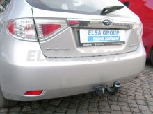 Tažné zařízení Subaru Impreza HB (ne pro WRX), pevný čep, 2007 - 2012
