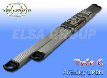 Příčníky střešního nosiče OPEN C alu 1142+987cm