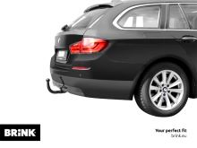 Tažné zařízení BMW 5-serie GT 2013/07-2014/02 (F07) , vertikální, BRINK