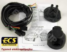 Typová elektropřípojka Fiat Strada 2000-2006, 7pin, ECS