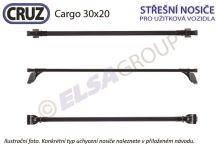 Střešní nosič Renault Kangoo skříň (08-) / Mercedes Citan (13-), CRUZ